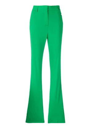 MSGM high-waisted trousers - Green