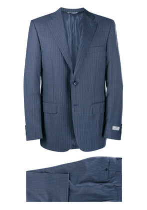 Canali pinstriped two-piece suit - Blue