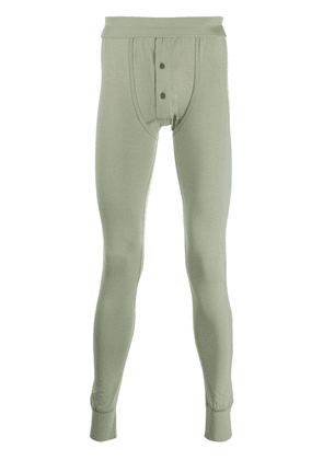 Ron Dorff front button leggings - Green