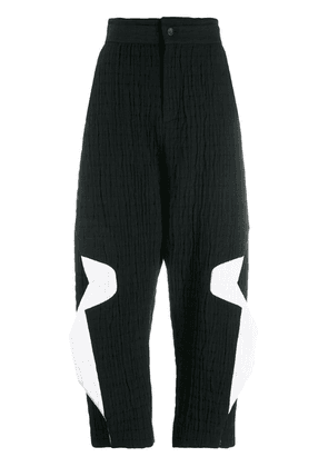 Chalayan cropped trousers - Black