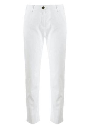 Dolce & Gabbana cropped trousers - White