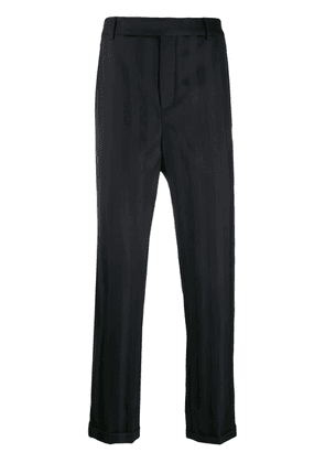 Saint Laurent striped tailored trousers - Black