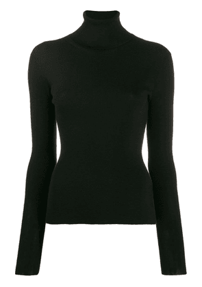 Dolce & Gabbana roll neck knitted top - Black