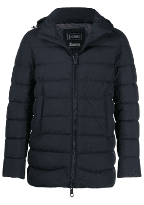 Herno hooded puffer jacket - Blue
