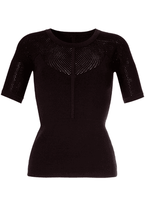 Ginger & Smart Addictive knitted top - Brown