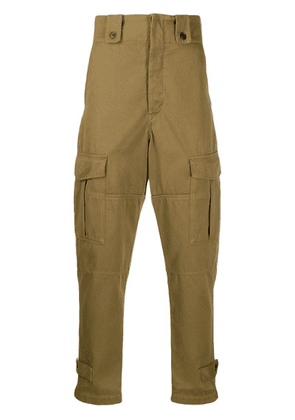 Isabel Marant Neil cargo trousers - Neutrals