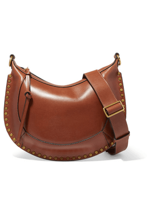 Isabel Marant - Naoko Studded Leather Shoulder Bag - Brown