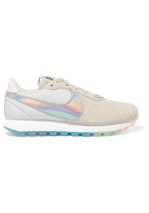 Nike - Pre-love O.x. Suede And Canvas Sneakers - Stone