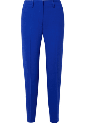 Akris - Wool-blend Tapered Pants - Bright blue