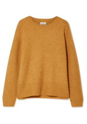 By Malene Birger - Ana Rib-trimmed Knitted Sweater - Camel