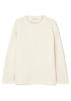 Agnona - Open-knit Cashmere Sweater - Ivory