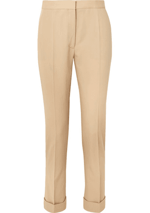 Stella McCartney - Wool-twill Straight-leg Pants - Beige