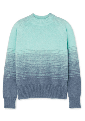 Dries Van Noten - Knitted Ombré Sweater - Turquoise