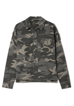 ATM Anthony Thomas Melillo - Camouflage-print Stretch-cotton Twill Jacket - Army green