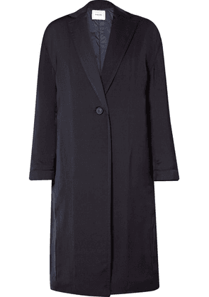 Vince - Crepe Coat - Midnight blue