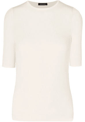 Goldsign - The Bound Ribbed Stretch-jersey T-shirt - White