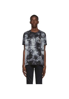 Nudie Jeans Black Roy Tie-Dye T-Shirt