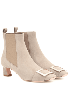 Chelsea Trompette suede ankle boots