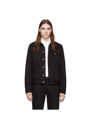 Nudie Jeans Black Tommy Denim Jacket