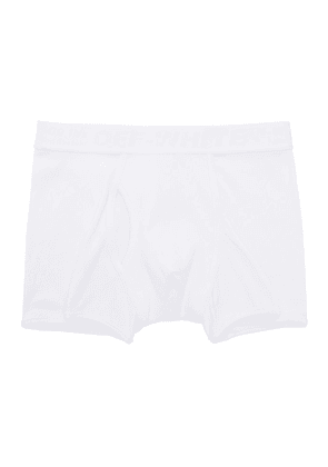 Off-White Three-Pack White Industrial Tape Boxer Briefs