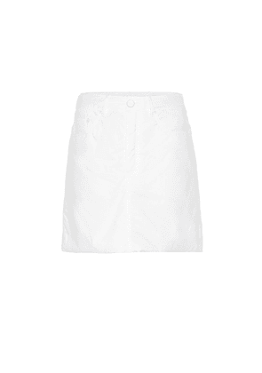Cotton miniskirt