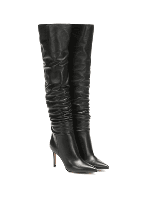 Valeria 85 over-the-knee leather boots