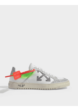 Arrow 2.0 Sneakers in White Calf Leather