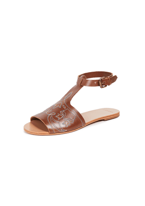 THE GREAT. The Western Sandals