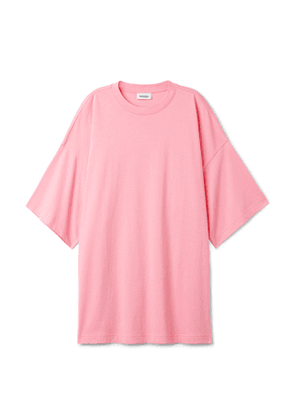 Huge T-shirt Dress - Pink