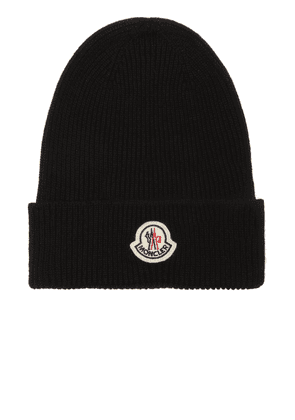Moncler Wool hat with logo