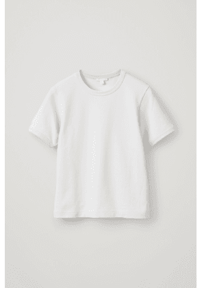 ROUNDED-SLEEVE T-SHIRT