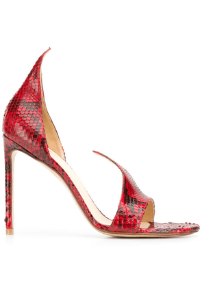 Francesco Russo open toe sandals - Red