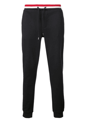 Moncler branded track trousers - Blue