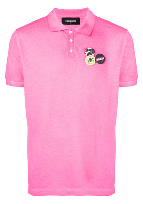 Dsquared2 classic polo shirt - Pink