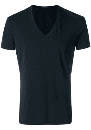 La Perla Club V-neck T-shirt - Black