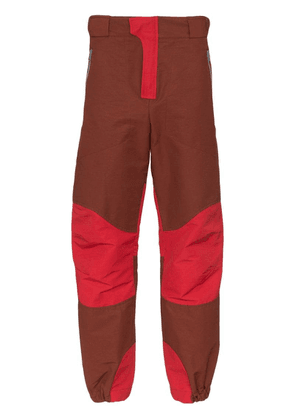 Boramy Viguier Hiking Wide Leg Cotton Trousers - Red