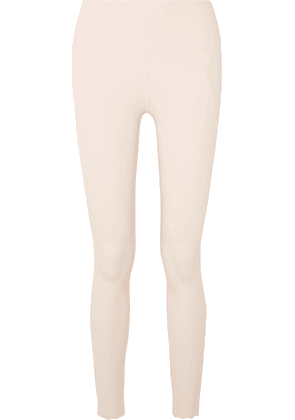 Varley - Cedar Scalloped Stretch Leggings - Cream