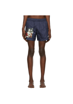 Off-White Navy Mariana De Silva Swim Shorts