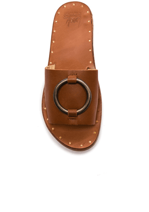 Beek Leather Cockatoo Sandals in Tan - Nude. Size 10 (also in ).