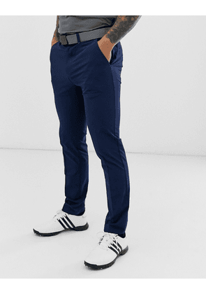 Adidas Golf Ultimate tapered trousers in navy
