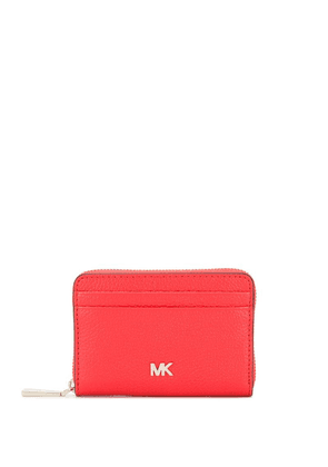 Michael Michael Kors logo embellished coin purse - Red