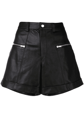 Isabel Marant high waist shorts - Black
