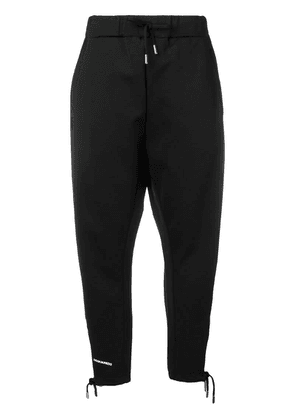 Dsquared2 tapered leg track pants - Black