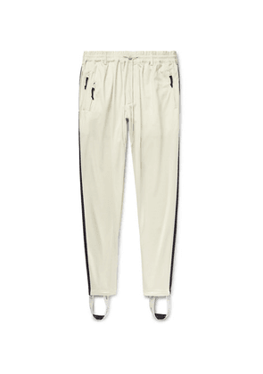 Y-3 - Striped Jersey Track Pants - Ecru