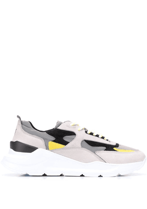 D.A.T.E. panelled sneakers - Grey