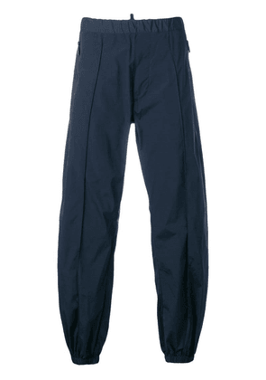 Dsquared2 wide leg track trousers - Blue