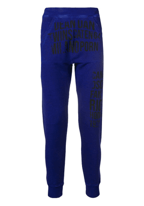 Dsquared2 Dean And Dan track pants - Blue