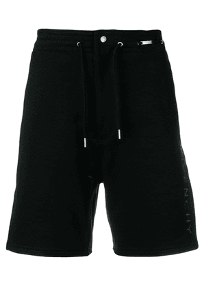 Givenchy vertical logo Bermuda shorts - Black