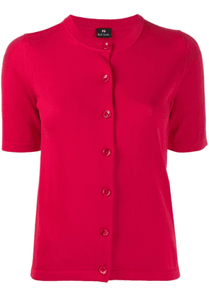 PS Paul Smith short-sleeved cardigan - Pink