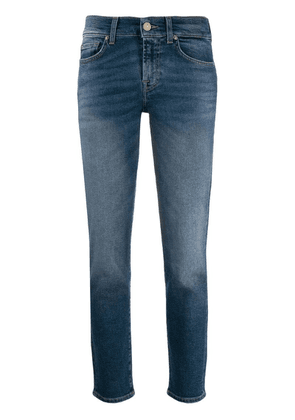 7 For All Mankind low rise straight-leg jeans - Blue